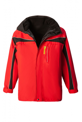 Куртка НОРД красно-черная